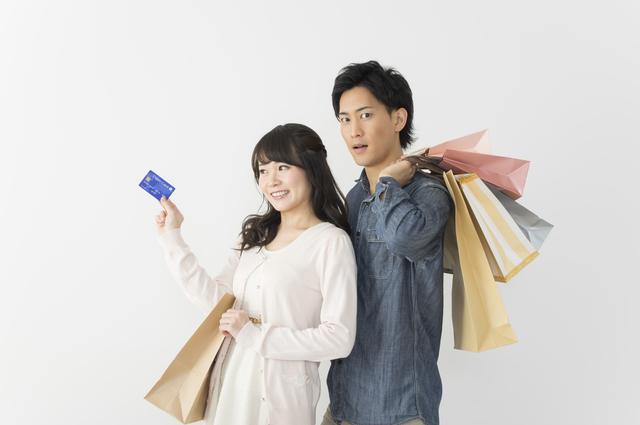 家族でショッピング